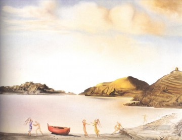 Surrealism Painting - Port Lligat at Sunset Surrealism