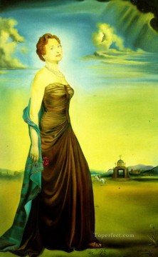Portrait of Mrs Reeves Surrealism Oil Paintings