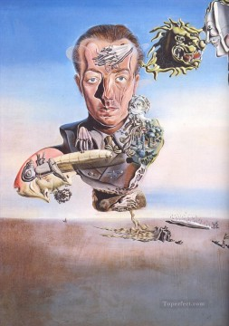 Surrealism Painting - Portrait of Paul Eluard Surrealism