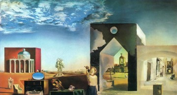 Surrealism Painting - Suburbs of a Paranoiac Critical Town Afternoon on the Outskirts of European History Surrealism