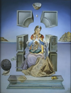 madonna Painting - The Madonna of Port Lligat Surrealism