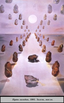 The Path of Enigma Surrealism Oil Paintings