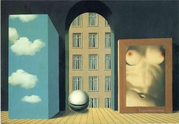 act of violence 1932 Surrealism Oil Paintings