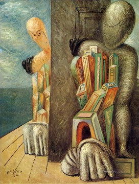 archaeologists 1926 Giorgio de Chirico Surrealism Oil Paintings
