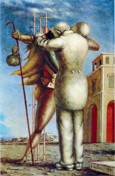the prodigal son 1924 Giorgio de Chirico Surrealism Oil Paintings