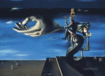 La Main Les Remords de conscience Surrealism Oil Paintings
