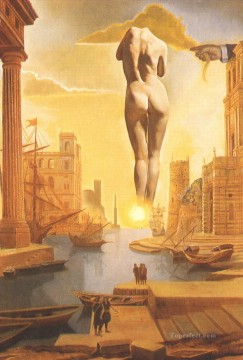Very Very Far Away Behind the Sun Surrealism Oil Paintings