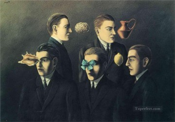 the familiar objects 1928 Surrealism Oil Paintings