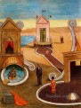 the mysterious bath Giorgio de Chirico Surrealism