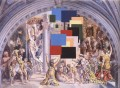 Athens Is Burning! The School of Athens and the Fire in the Borgo Surrealism