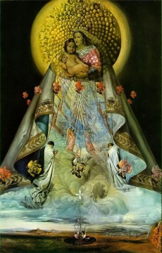 Virgin of Guadalupe Surrealism Oil Paintings