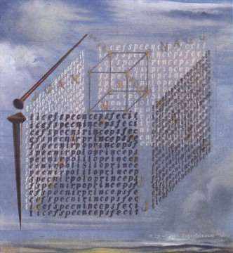 Surrealism Painting - A Propos of the Treatise on Cubic Form by Juan de Herrera Surrealism