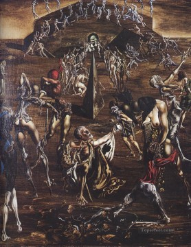 Surrealism Painting - Resurrection of the Flesh Surrealism