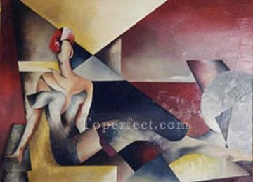 Figures Painting - cx024nC art abstract