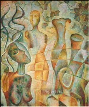 Figures Painting - cx009nE art abstract