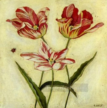 Adf203 decoration flowers Oil Paintings