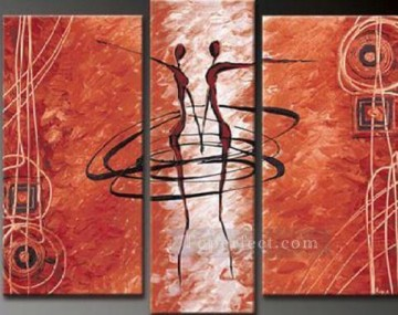 agp070 group oil painting panel Decor Art