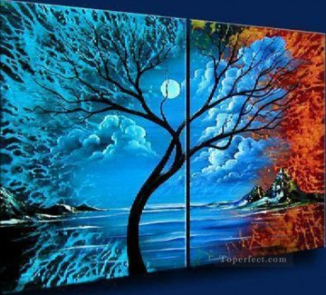agp013 group oil painting panel Decor Art