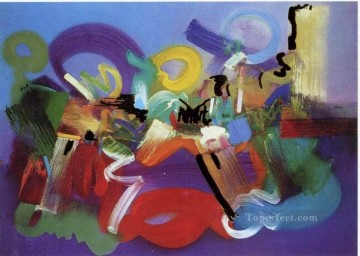 Illustration Painting - cx0729aC illustration abstract