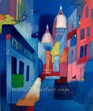 Illustration Painting - cx092aC illustration abstract