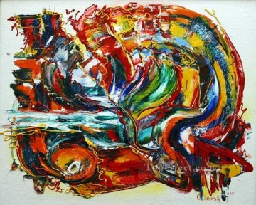 cx1445aC abstract illustration Oil Paintings