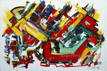 cx1450aC abstract illustration Oil Paintings