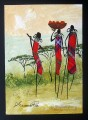 Shiundu Maasai Ladies Head Home African