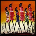 black hunters back to home African