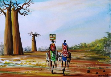 Baobab Road African Oil Paintings