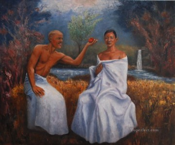 African Painting - Eden African