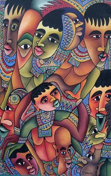 African Painting - Humble You from Africa
