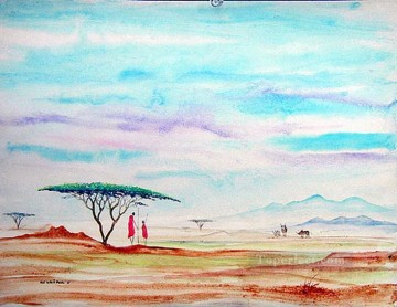 African Painting - Kolii Paul6 from Africa