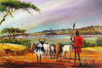 Lake Bogoria from Africa Oil Paintings
