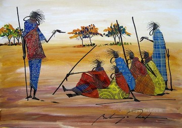 African Painting - Time to Tell from Africa
