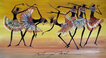 dancing Leather 1892 African Oil Paintings
