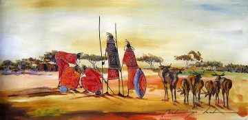 Forward Thinking from Africa Oil Paintings