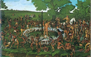 western American Indians 02 Oil Paintings