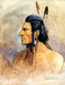 indian brave 1898 Charles Marion Russell American Indians