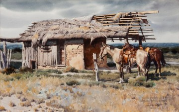 American Indians Painting - james boren west america indiana