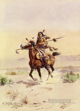 nobleman of the plains 1899 Charles Marion Russell American Indians Oil Paintings