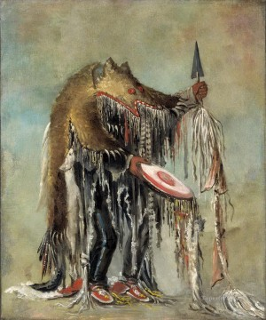 American Indians Painting - west america indiana fantastic