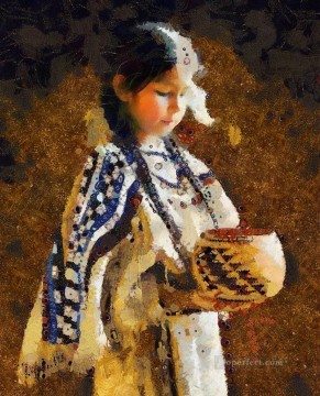 western American Indians 57 Oil Paintings