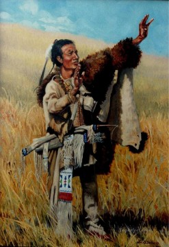 western American Indians 73 Oil Paintings