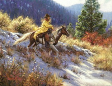 American Indians Painting - Keathley ToughStuff west America