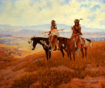 Lone Wolf west America Oil Paintings