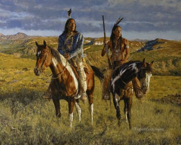 Winchester west America Oil Paintings