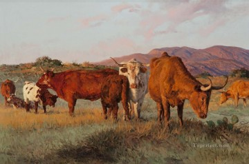 Bill Owen Tx Patriarchs west America Oil Paintings
