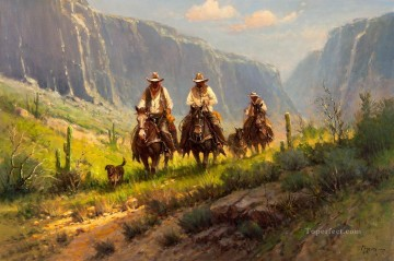 west america cowboys 68 west America Oil Paintings