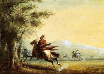western American Indians 33 Oil Paintings