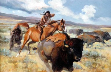 western American Indians 71 Oil Paintings